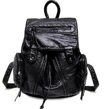 PU leather daypacks with metallic silver effect from Iris Fashion Accessories Co.Ltd