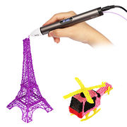 China Lowest temperature and safety digital printing machine 3D pen with PCL filament