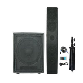 China 12Inch woofer with 4inch satellite speaker 400Watts