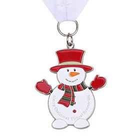 China Snowman medal for virtual runner