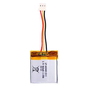 3.7V 560mAh LP-443440-1S-3 Lithium Polymer Battery from Shenzhen BAK Technology Co. Ltd