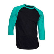 China Casual Slim Fit Raglan Baseball T-shirts