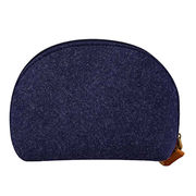 China Fashionable Felt Cosmetic Handbag, Toiletry Bag, Shell Bathing Organizer, Makeup Storage, Clutch Bag