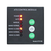 China ATS106 diesel generator automatic transfer switch panel