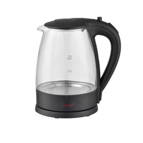 China Glass electric kettles, 1.7L capacity