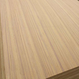 China Recon veneer faced 1.9mm MDF board with straight line veneer