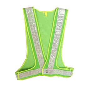 Hi-vis Safety Vest 100% Polyester Mesh from Zhejiang Yinguang Reflecting Material Manufacturing Co. Ltd