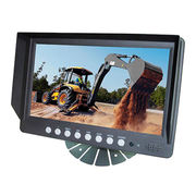9inch stand-alone monitor 2 channel digital lcd monitor bulk cheap from Shenzhen Luview Co. Ltd