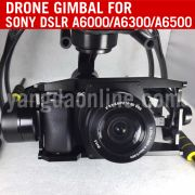 3 Aixs High Stabilized Drone Gimbal For Sony A6000a6300a6500 Dslr