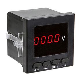 China Single phase panel mounted digital AC voltmeter