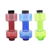 Hong Kong SAR Dumbbell-shaped Water Bottle with Food-grade PC Housing and PP Lid