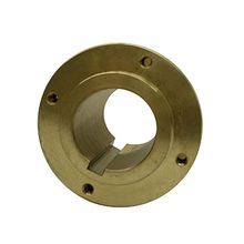 China CNC Copper Machined Part with Sandblasted and Black Anodized