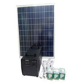 China 300W portable solar home system kits for DC light, DC fans, cellphone charge, small AC LCD TV