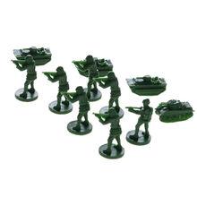 China US Marine Plastic Military Miniatures