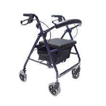 China Lightweight Medical Elderly Care Disability Four-wheel Chair Rollators Shopping Cart