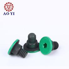 Flat painted head step machine screw Dongguan City Aoyi Hardware Co. Ltd