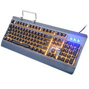 China Aluminum base gaming wired keyboard