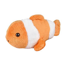Clown Fish Bean Filled Plush Stuffed Animal Custom Plush Toy ICTI Approval from Dongguan Yi Kang Plush Toys Co., Ltd
