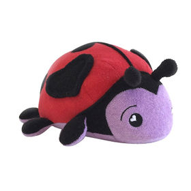 Bath toy sponge, ladybug custom plush toy ICTI approval from Dongguan Yi Kang Plush Toys Co., Ltd