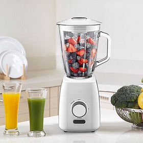 Powerful blender,600W/1000W,2 speed,1.5L glass jar,with ice crush function,miller for option,white from Hong King Group Ltd