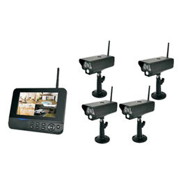 China 4CH Outdoor Security camera CCTV kits DVR/NVR Wifi NVR Wireless Seucurity System Network Camera PIR