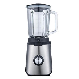 SS table blender, 800W, 3 speeds with pulse, 6 leave blade,blue LED indicator,1.5L glass jar from Hong King Group Ltd