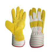 China Superior Safety Working Gloves Leather/Jean/Cotton Gloves