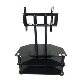 Hot Sale Clear Tempered Glass LCD TV Stand from Langfang Peiyao Trading Co.,Ltd