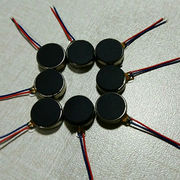 China 8mm diameter, 3.0mm length micro DC coin vibration motors