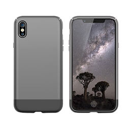 2-piece PC Case for iPhone X with Rubber Coating from Beelan Enterprise Co. Ltd
