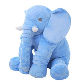 Elephant plush toy custom plush toy with ICTI approval from Dongguan Yi Kang Plush Toys Co., Ltd