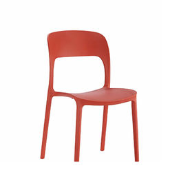 Outdoor plastic chair with metal legs from Langfang Peiyao Trading Co.,Ltd