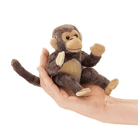 Finger monkey toys custom plush toy ICTI approval from Dongguan Yi Kang Plush Toys Co., Ltd