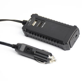 China 30W Mini DC to AC Power Inverter, 12V DC/110-240V AC Car Inverter with 3.4A Dual USB Car Adapter