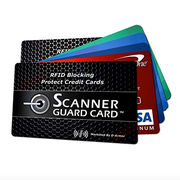 China Plastic RFID Blocking Card Protect Your Credit Card