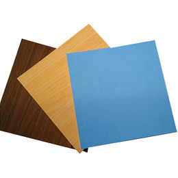 China Double side color faced MDF board for furniture building