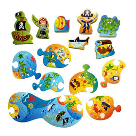 China Puzzle and Play - Treasure Adventure Toy