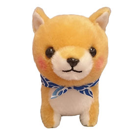 Plush akita dog plush akita custom plush toy with ICTI approval from Dongguan Yi Kang Plush Toys Co., Ltd