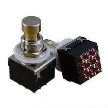 Metal Button Switch Guitar Foot Switch