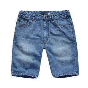 China Men's blue shorts