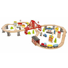 China Railway wooden toy