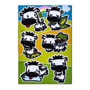 China Fabric Sticker