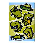 China Paper Fabric Sticker