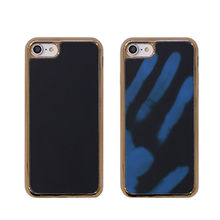 New design sensing mobile phone case, temperature sensitive back cover for new iPhone 7/6