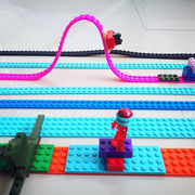 Silicone Adhesive Tapes for Block Bricks Toys in Rolls