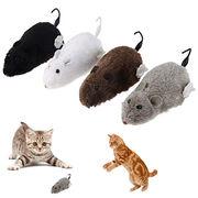 Hong Kong SAR 6-pack Plush Mouse Cat Toys
