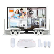 China Super mini all-in-one portable 4CH P2P WiFi HDMI NVR with built-in 2.5-inch HDD