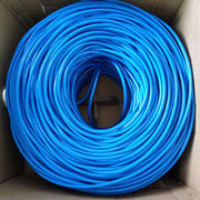 500ft CAT5E Cable 4 Pair 24 AWG UTP Ethernet Network Wire from Changzhou Sun-Rise Electronic Co.Ltd