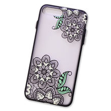 Colored Drawing Transparent TPU Phone Case, Embossment Painted Back Cover for iPhone 8/7/6 from Guangzhou Kymeng Electronic Technology Co., Ltd
