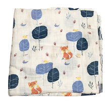 Hot Sale 70% Bamboo and 30% Cotton Muslin Blanket